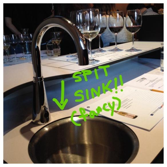 wine profis get a spit sink!!!